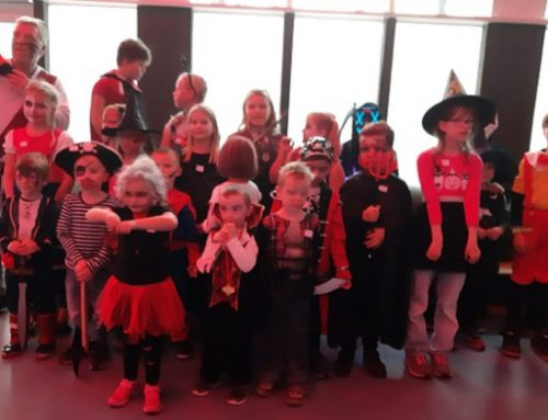 Kinder Halloween Party ein voller Erfolg